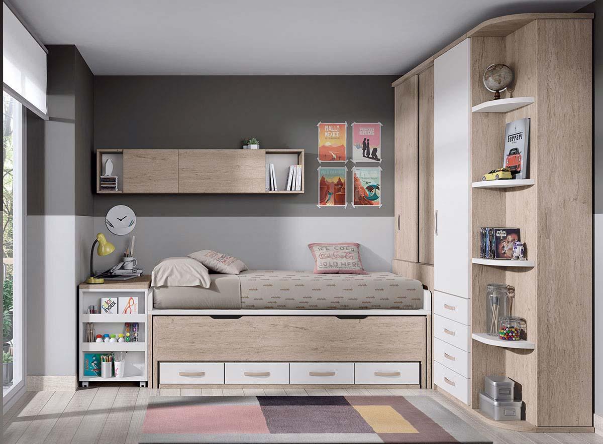 Compactos nido geysa muebles for Muebles gallery lorca