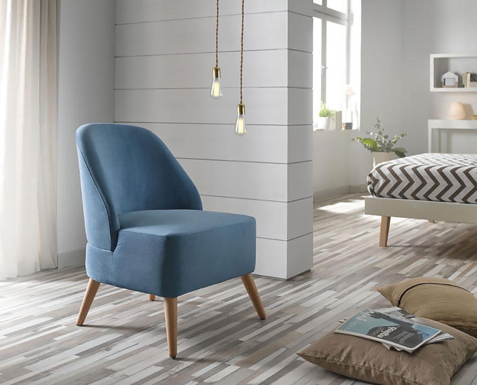Butacas modernas geysa muebles for Sillones orejeros en merkamueble