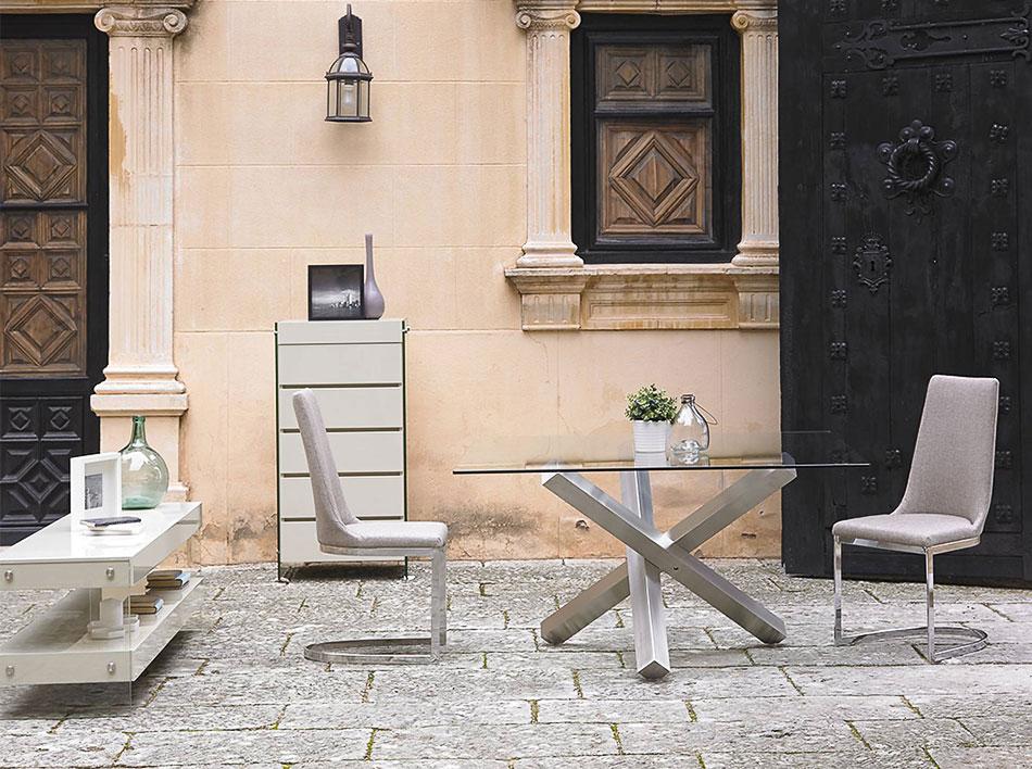 Mesas de comedor geysa su tienda de muebles en murcia for Muebles gallery lorca